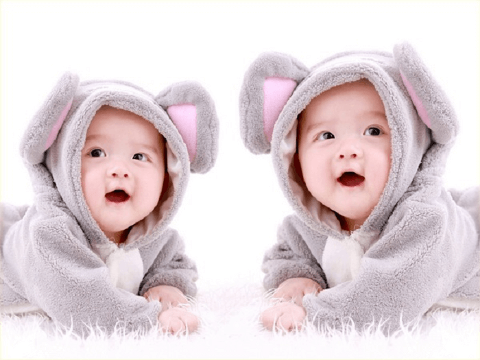 Mơ thấy hai em bé sinh đôi tương lai công việc sẽ thuận lợi