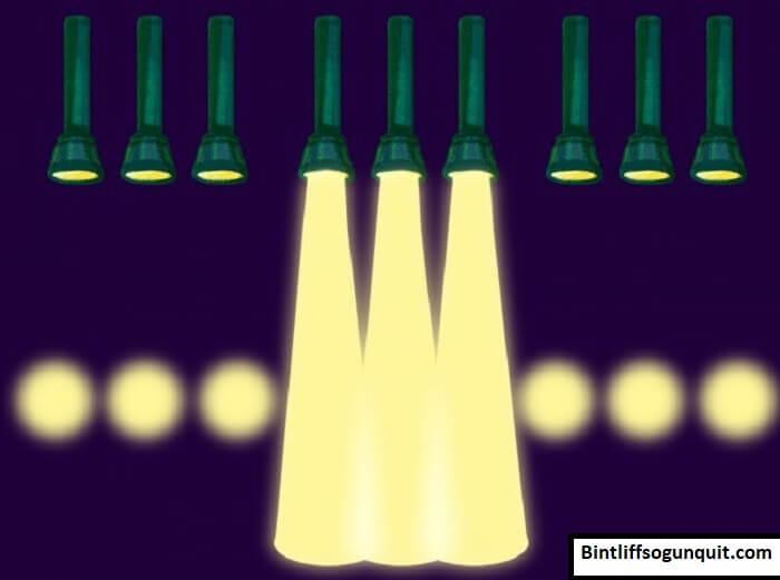 Tín hiệu SOS thực hiện bằng đèn pin theo quy tắc